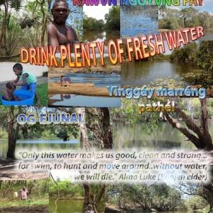 Drink Plenty of Fresh Water
