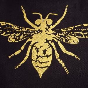 Golden bee Logo, Bernadette Boscacci